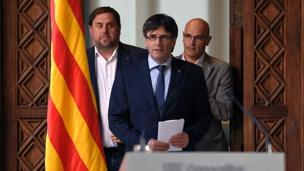 <p><b>ØNSKER UAVHENGIGHET:</b> Carles Puigdemont, president i den spanske regionen Catalonia, vil igjen søke om uavhengighet og avholde en ny folkeavstemning.</p>