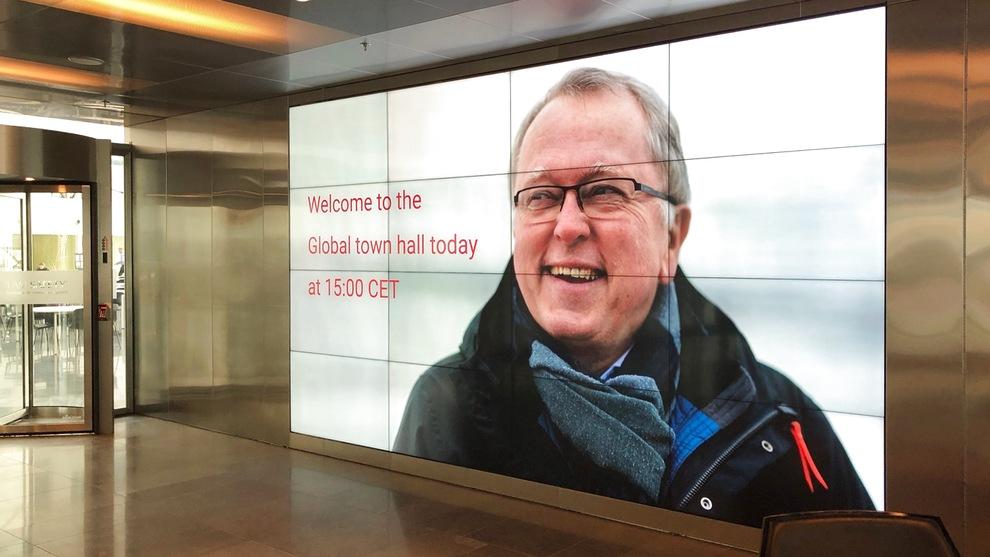 Statoil-sjef Eldar Sætre skal torsdag ettermiddag arrangere allmøte i Stavanger for å fortelle om det nye selskapsnavnet Equinor. Over 100 Statoil-kontorer skal være med på videolink.