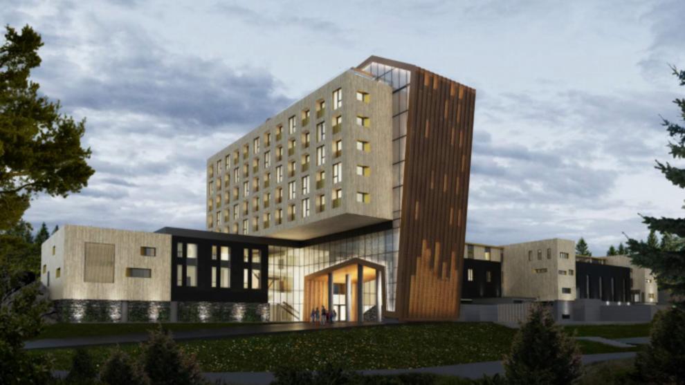 <p>The Well-hotellet skal ligge vegg i vegg med spaet, forklarer selskapet etter at kommunestyret i Oppegård ga tommelen opp til bygging.</p>