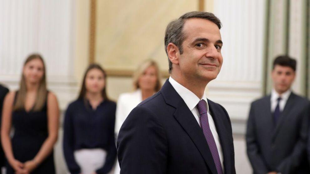<p><b>TRE ÅR:</b> Det tok tre år fra Kyriakos Mitsotakis overtok som leder av partier Nytt Demokrati, til han vant valget og overtok som statsminister i Hellas tirsdag denne uken.</p>