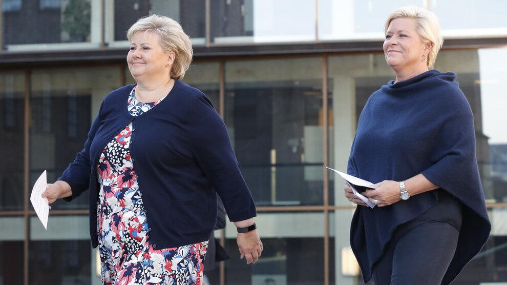 <p><b>LAGER FORMUESFEST:</b> 492 flere personer har nå formue på 100 millioner kroner eller mer siden før Erna Solberg og Siv Jensen kom i regjering.</p>