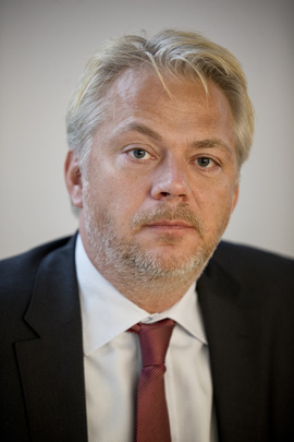 <p><b>STØTTER FORSLAGET:</b> Jan Erik Fåne, kommunikasjonsdirektør i Finans Norge.</p>