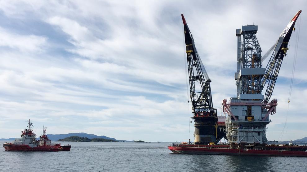 <p><b>GODT I GANG:</b> Statoil ligger foran skjema med utbyggingen av Johan Sverdrup.</p>