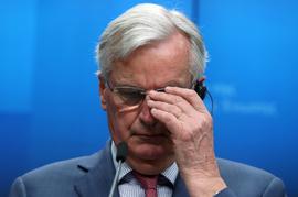 <p><b>SJEFFORHANDLER:</b> Brexit-forhandler på vegne av EU, Michel Barnier.</p>