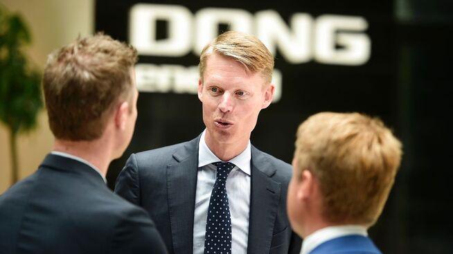 <p><b>BØRSNOTERT:</b> Dong ble børsnotert i København i mai i fjor. Her ved administrerende direktør Henrik Poulsen.</p>