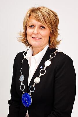 Ordfører Berit Flåmo (Ap) i Frøya kommune.