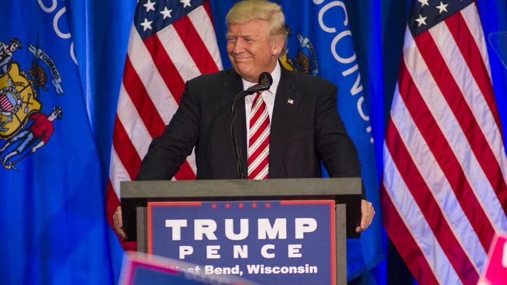 <p><b>FARLIG:</b> Blir Donald Trump amerikansk president, vil det være skadelig for verdensøkonomien, mener DNB.</p>
