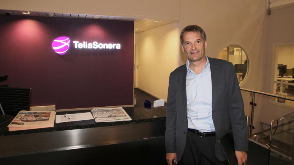 <p><b>NYTT NAVN, NYE TIDER:</b> Telia Norge-sjef Abraham Foss har besluttet å droppe Netcom-navnet til fordel for Telia.</p>
