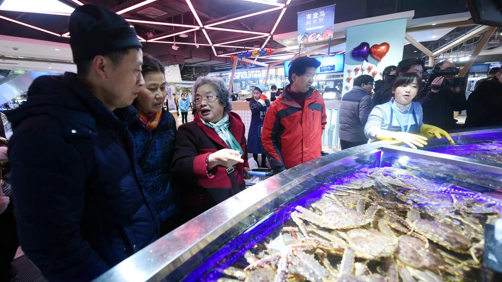 <p>POTENSIAL: Kina er et stort marked for norsk laks og har en god posisjon blant kinesiske kokker.</p>