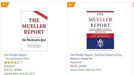 <p>Disse to versjonene av Mueller-rapporten er de mest solgte hos Amazon lørdag formiddag.</p>