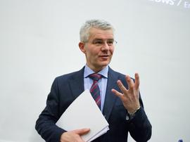 <p><b>NY TRUSSELVURDERING:</b> Sjef for Økokrim Trond Eirik Schea slapp torsdag Økokrims trusselvurdering for 2018.</p>