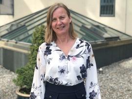 Elisabeth Aarsæther, direktør i Nasjonal kommunikasjonsmyndighet (NKOM)
