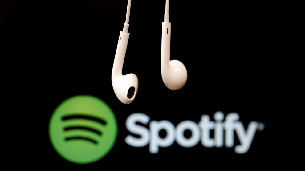 <p>SAKSØKES: Spotify saksøkes for 13 milliarder kroner etter påståtte brudd på opphavsretten</p>