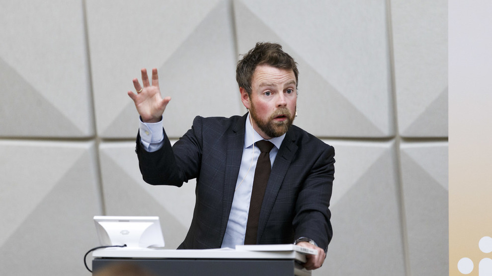 <p><b>TIL HØRING</b>: Nærings- og fiskeridepartementet sender et lovendringsforslag til høring onsdag. Her næringsminister Torbjørn Røe Isaksen ved en tidligere anledning.</p>