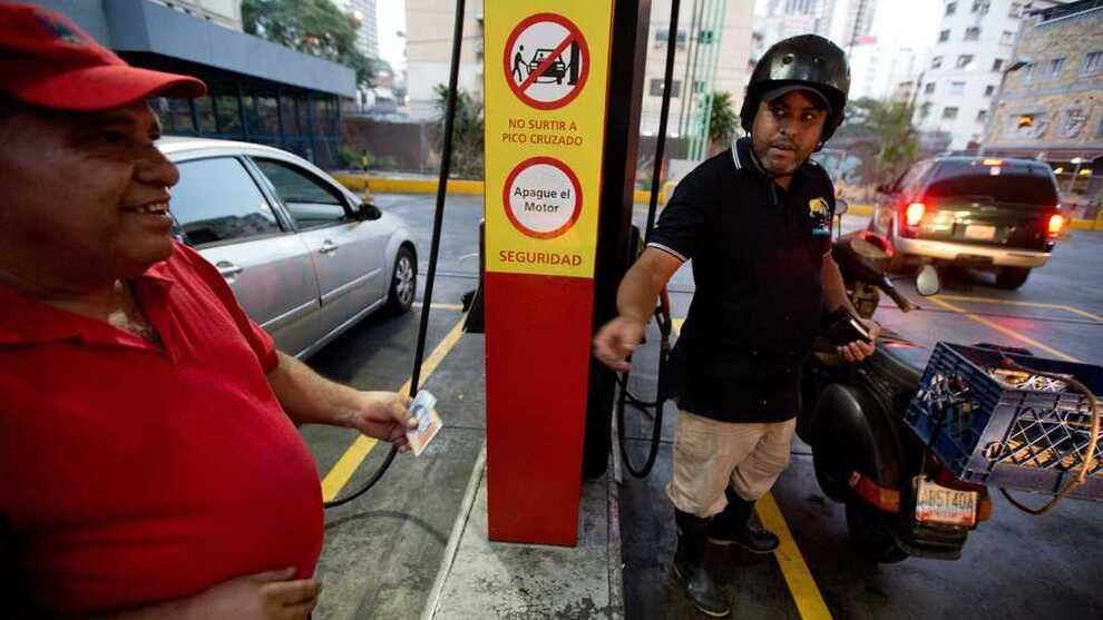 <p>BILLIGST I VERDEN: Selv om bensinprisen i Venezuela øker, er den fortsatt veldig lav.</p>