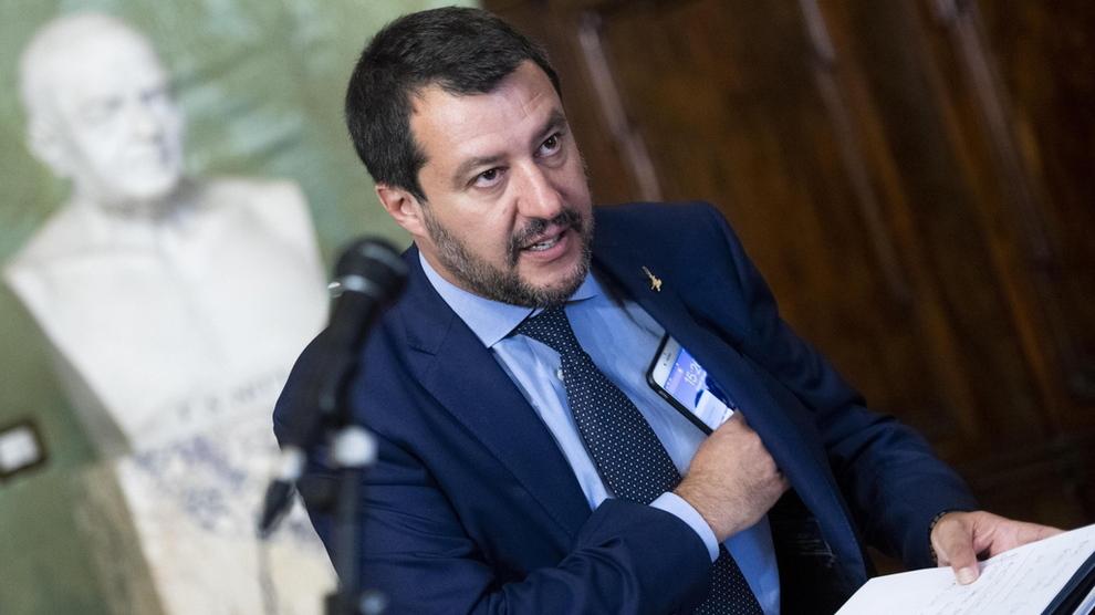 <p><b>PARTILEDER</b>: Matteo Salvini leder regjeringspartiet Ligaen. Lydopptak viser at partiet skal ha vært senter for forhandlinger mellom italienske og russiske representanter.</p>