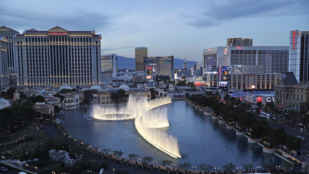 <p><b>INVESTERER I SPILLBYEN:</b> Oljefondet eier aksjer verdt cirka 875 millioner kroner i MGM, som blant annet har gigantkasino i Las Vegas.</p>