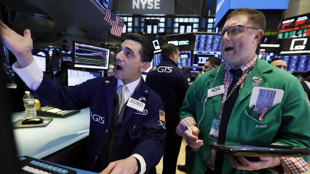 <p><b>BLYTUNGT</b>: Wall Street har hatt en tung onsdag etter urovekkende signaler fra obligasjonsmarkedet og de store økonomiene.</p>