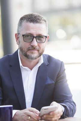 <p><b>BESTE:</b> Hans-Petter Nygård-Hansen mener minE24 er det beste som har skjedd i norsk mediebransje på mange år.</p>