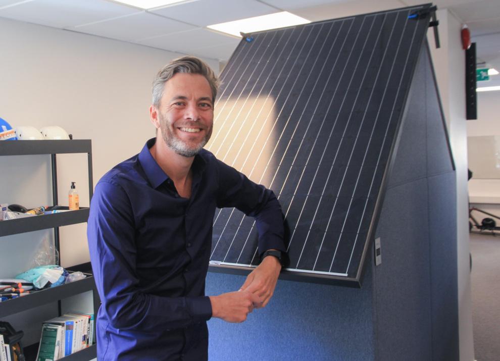 <p><b>AMBISJONER:</b>Det norske solcelleselskapet Otovo vil bli nummer én i Europa, og skal i løpet av et halvår inn på det spanske markedet. Bildet viser Andreas Thorsheim, daglig leder i Otovo.</p>