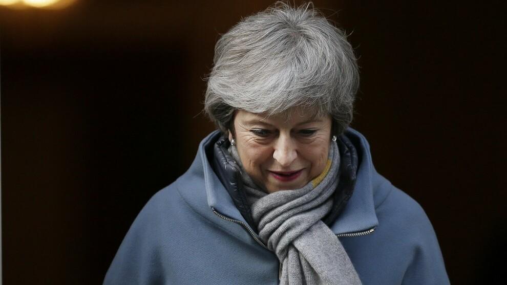 <p><b>UTSETTELSE</b>: Storbritannias statsminister ber om utsettelse av brexit.</p>