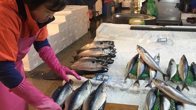 <p><b>FISKEMARKED I SEOUL:</b> Eksporten av norsk makrell til Sør-Korea øker. Blant koreanske forbrukere er makrell den foretrukne fisken.</p>