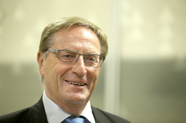 <p><b>TRAKK SEG FØR HAN BLE KASTET:</b> Svein Aaser trakk seg i fjor som styreleder i Telenor rett før næringsminister Monica Mæland rakk å sparke han.<br/></p>