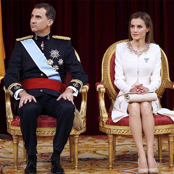 Letizia i Felipe Varela kjole