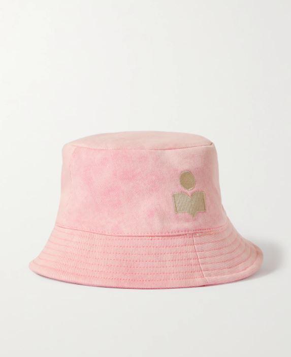 Flerfarget hatt i bomull