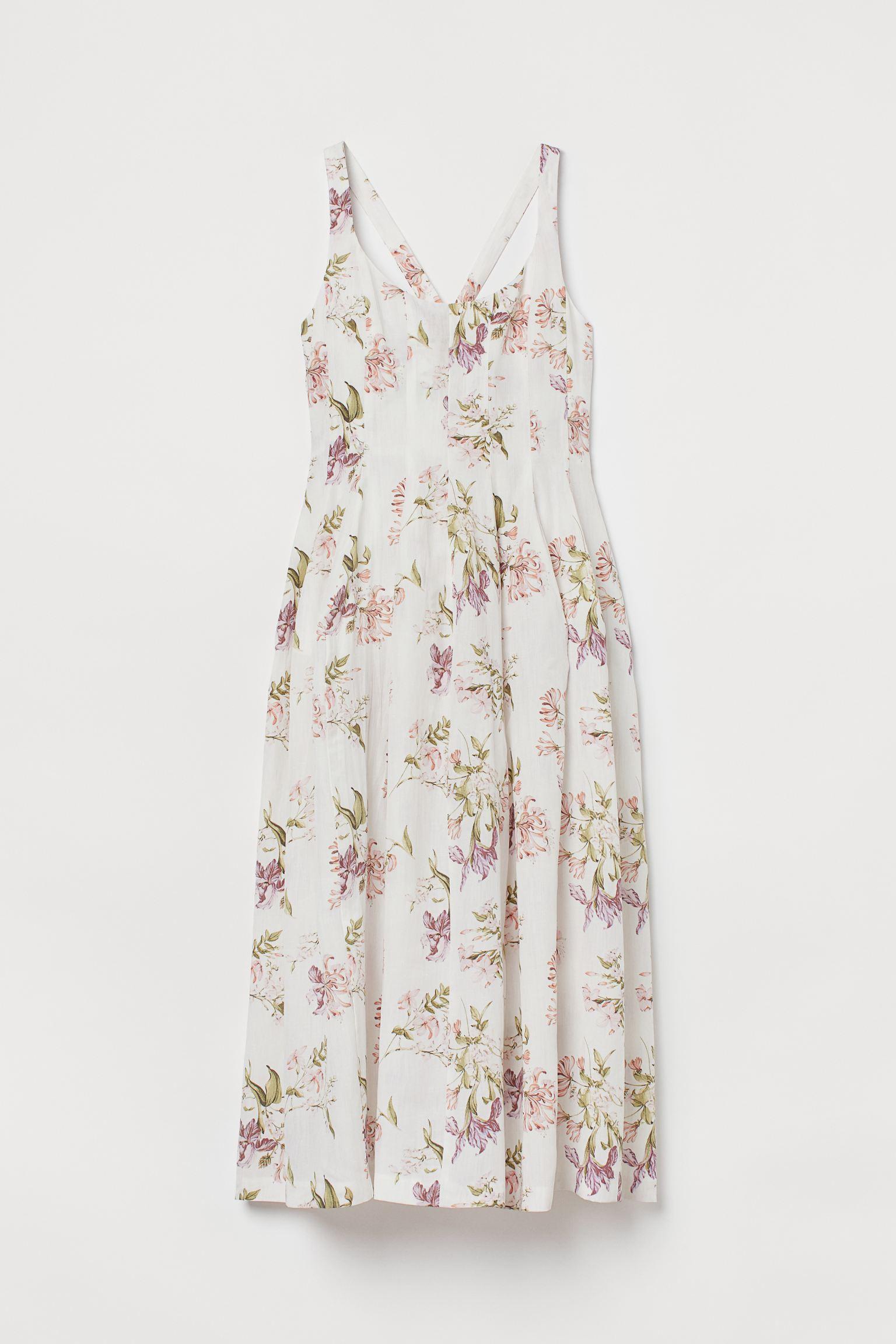 Blomstrete kjole fra designsamarbeid