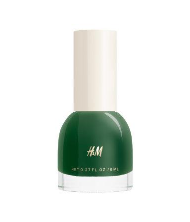 Blå og grønne neglelakker