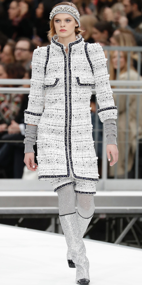 Chanel fall/winter 2017. Foto: AFP