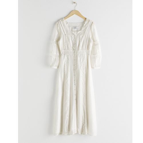 Hvite kjoler sommer 2019 2