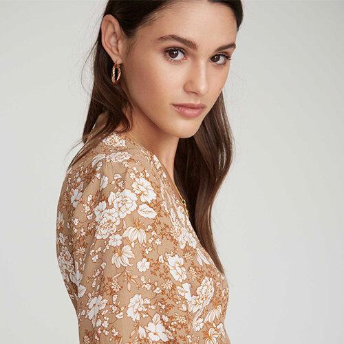 Vårlige kjoler- topp