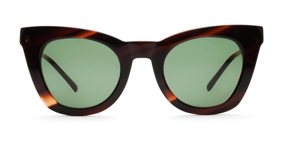 Tykk innfatning solbriller