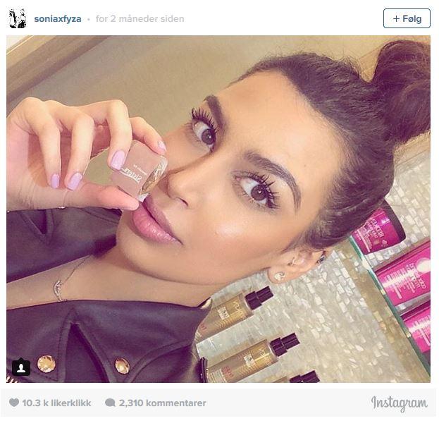 Kim Kardashian look-alike