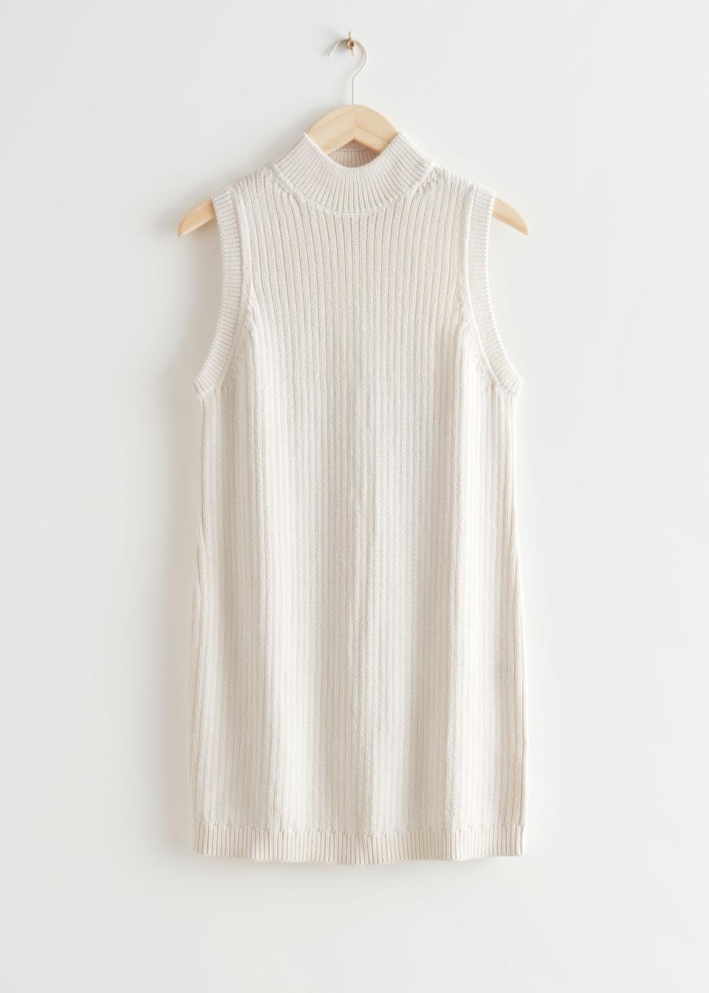 Kort kjole uten ermer