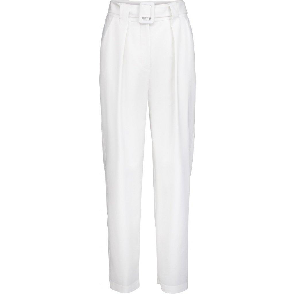 Hvit bukse i ull