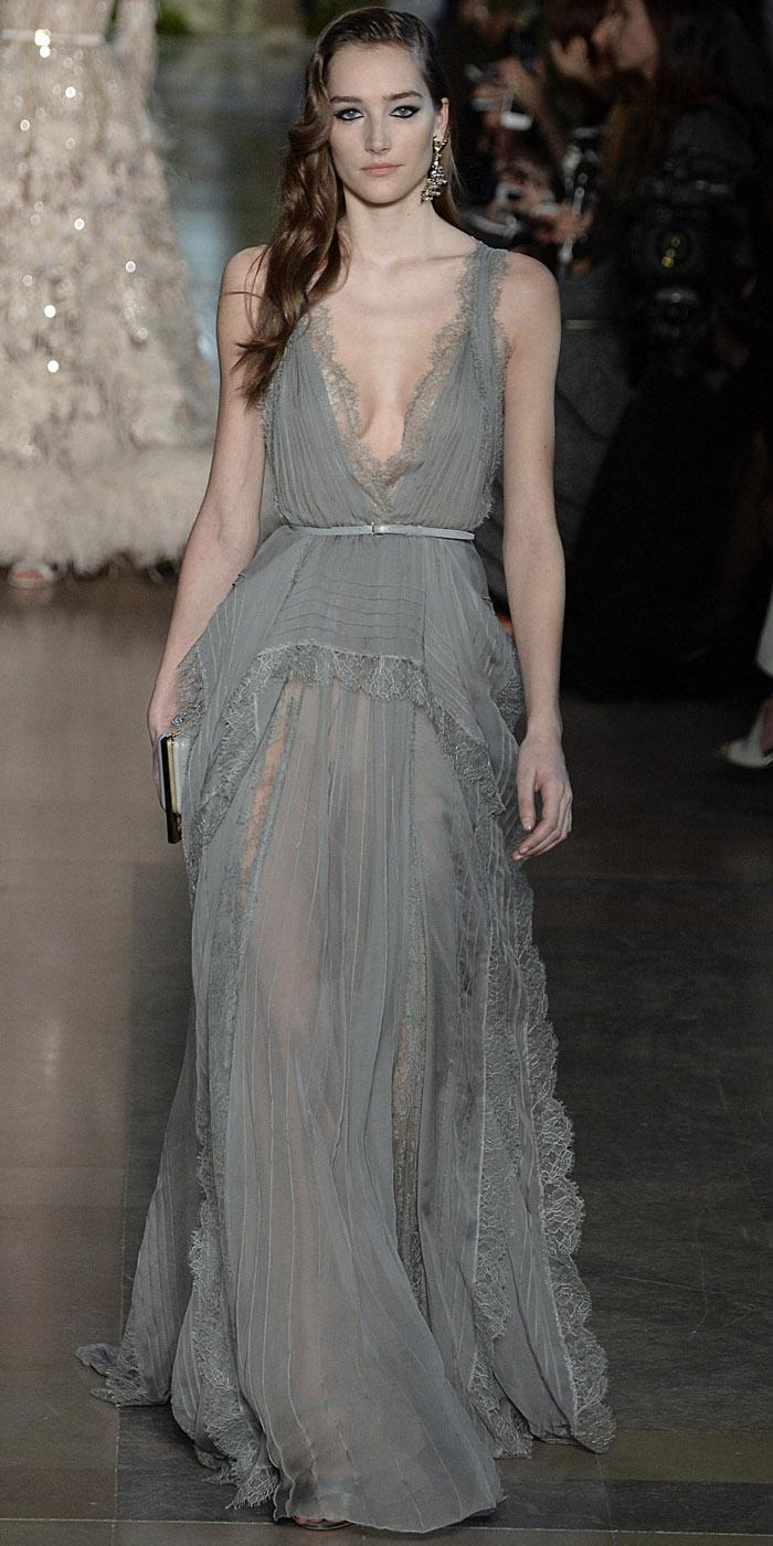 Paris haute couture elie saab