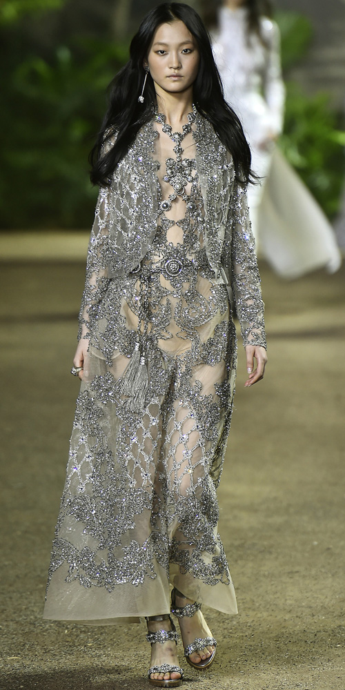 Elie Saab haute couture spring/summer 2016. F