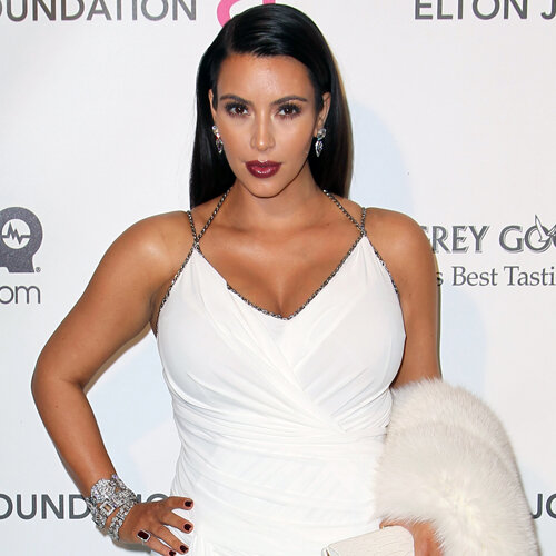 Kim kardashian selvbruning