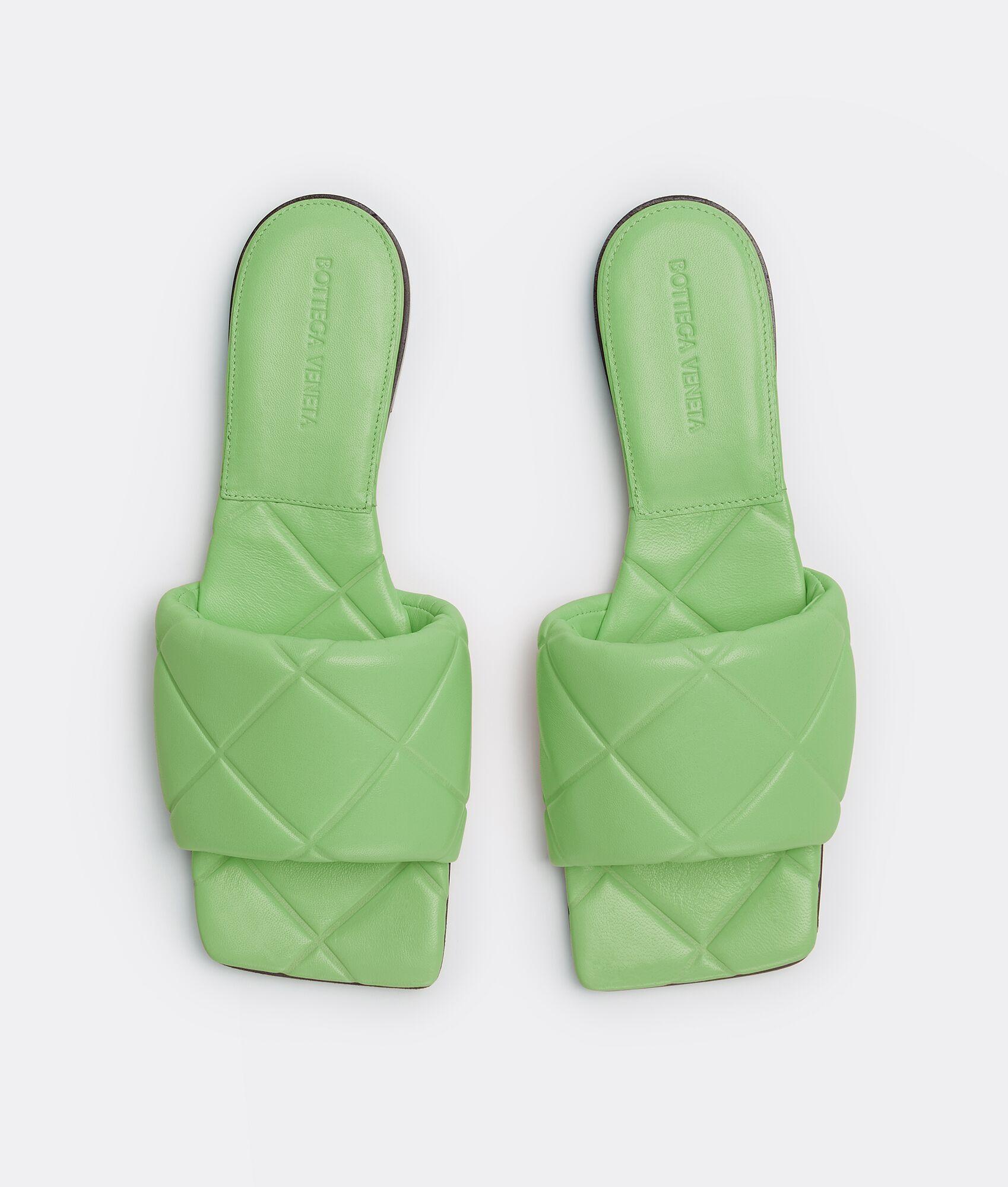 Flate slippers fra Bottega Veneta