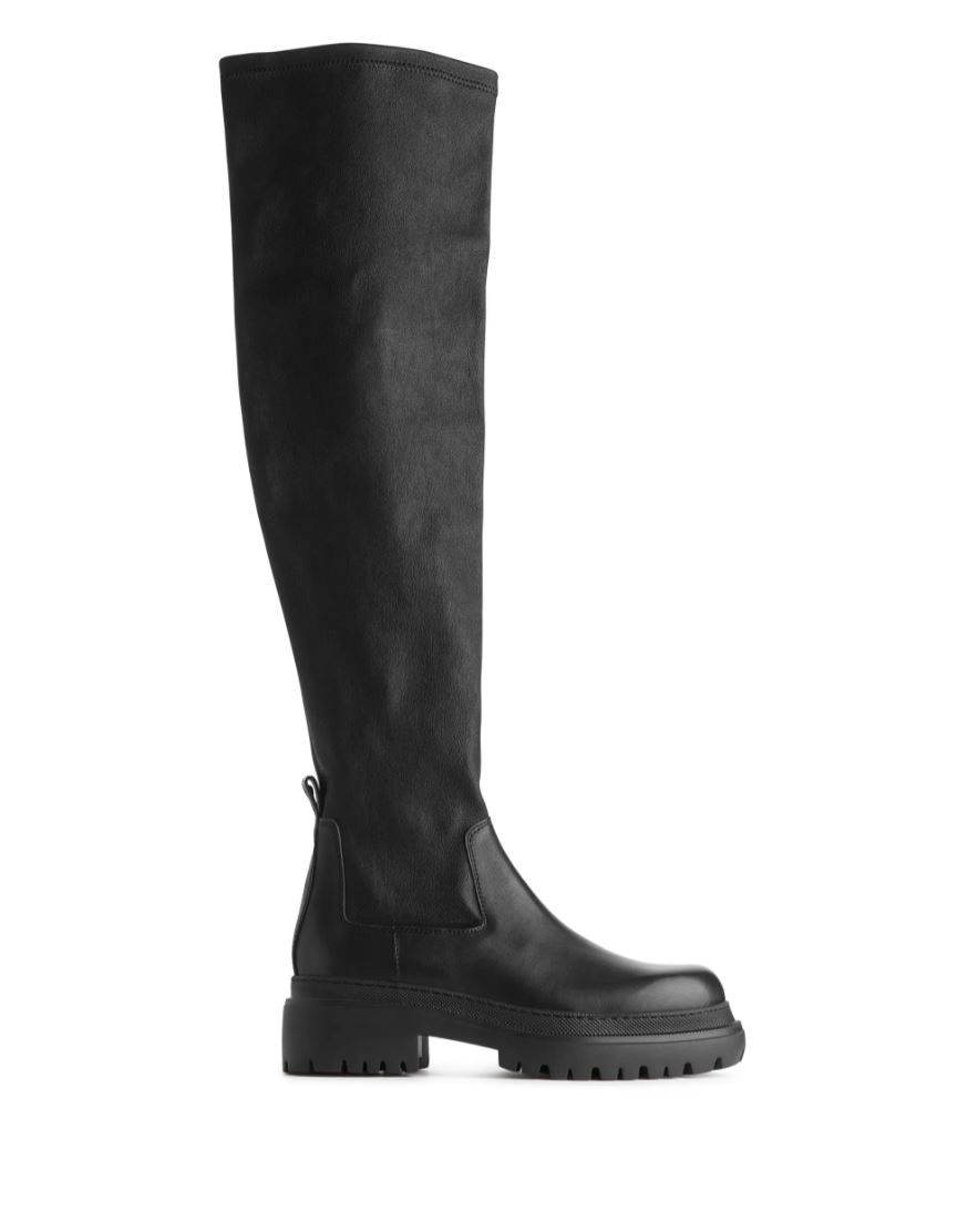 Over the knee-boots