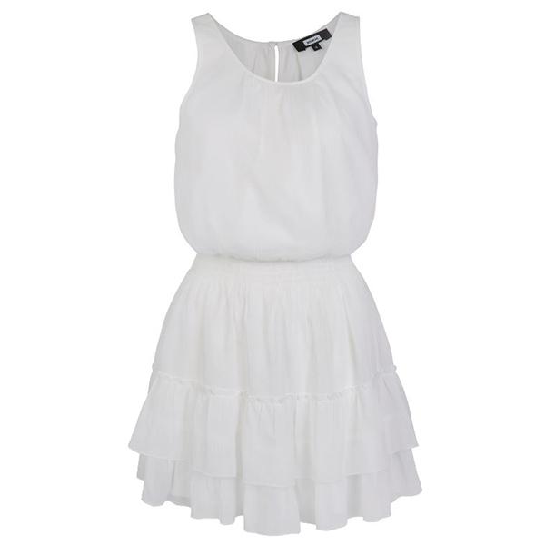 hvit kjole