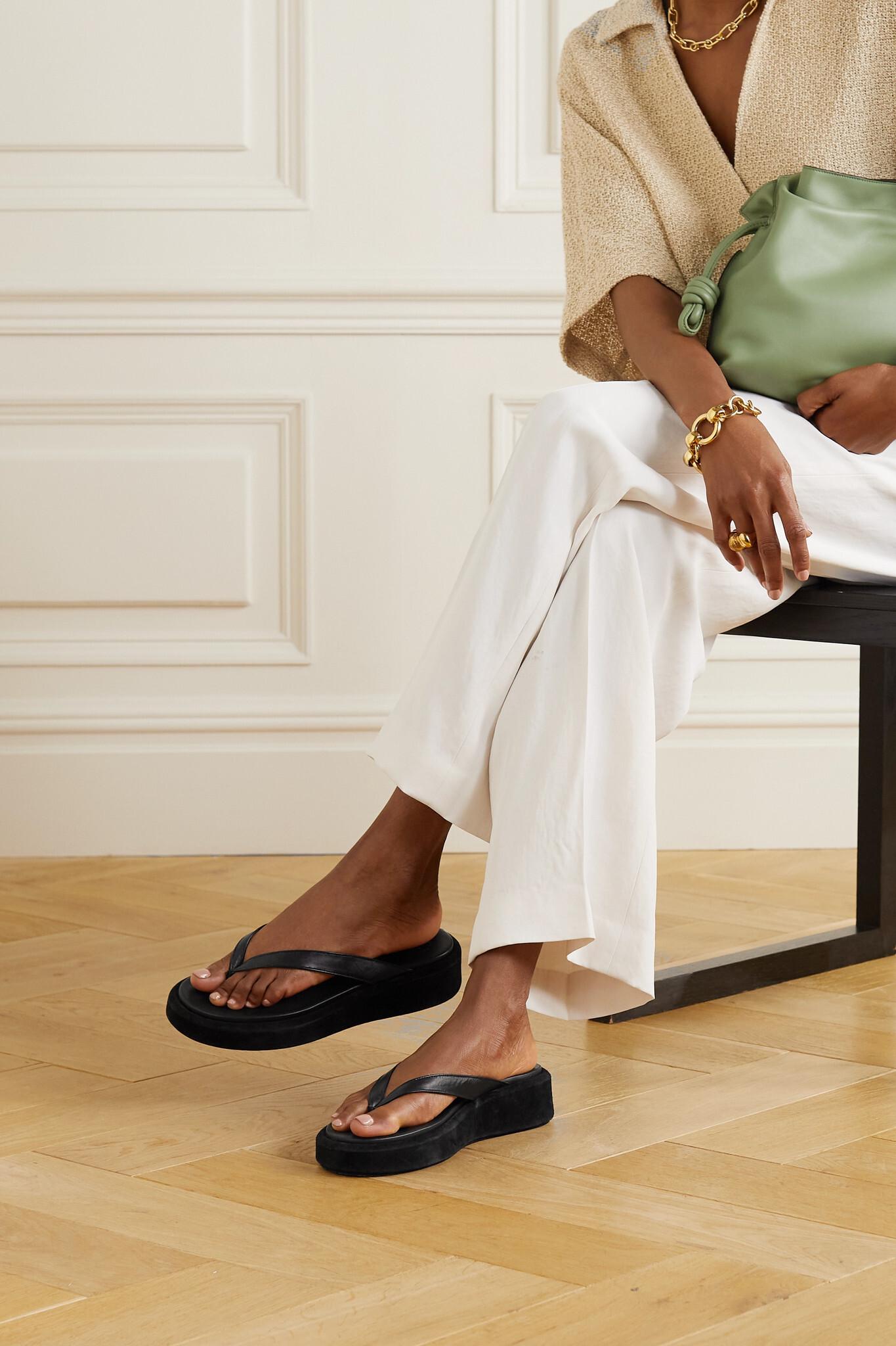 Sandaler med platform