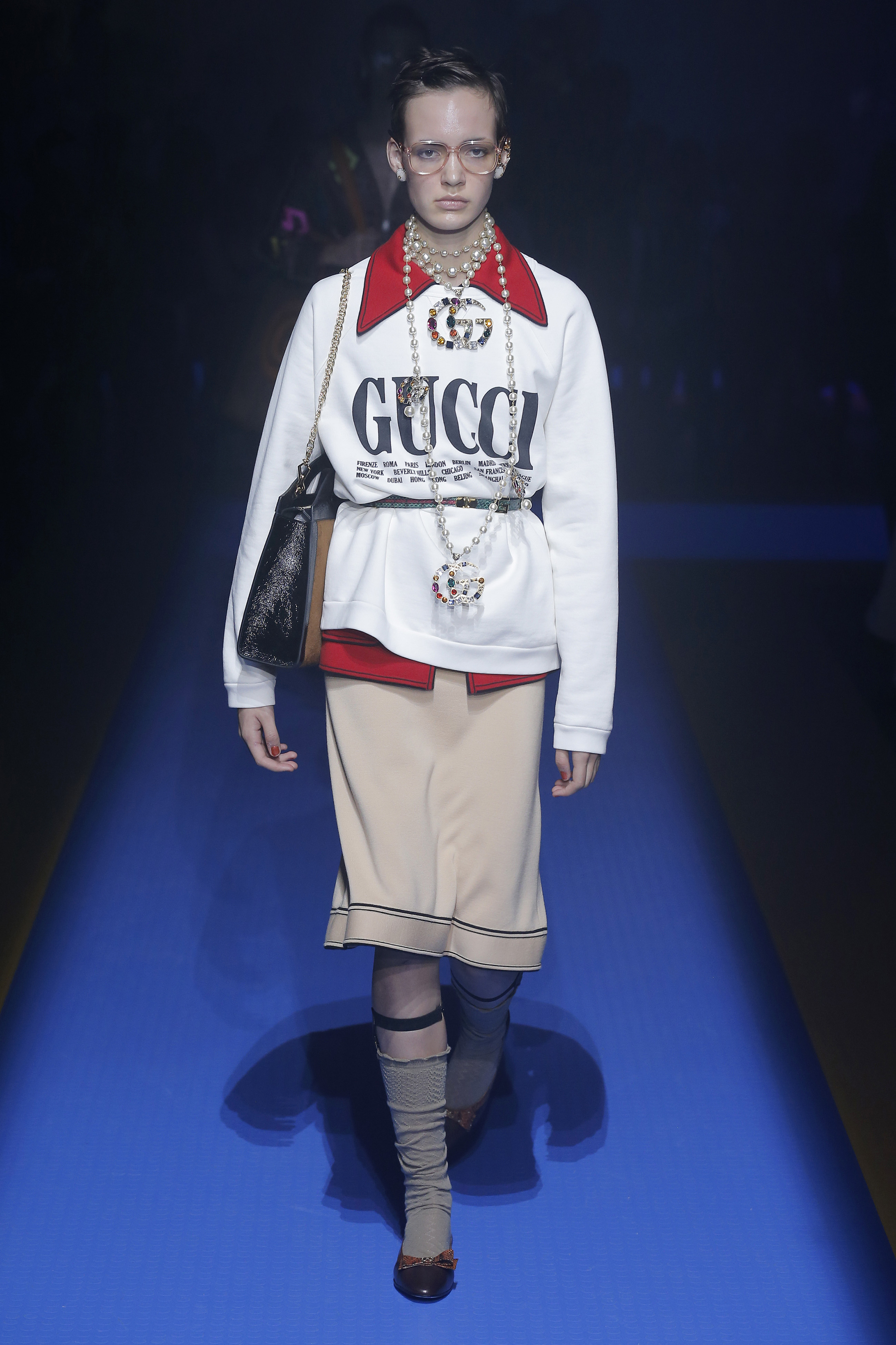 Gucci spring/summer 2018. Foto: Getty Images