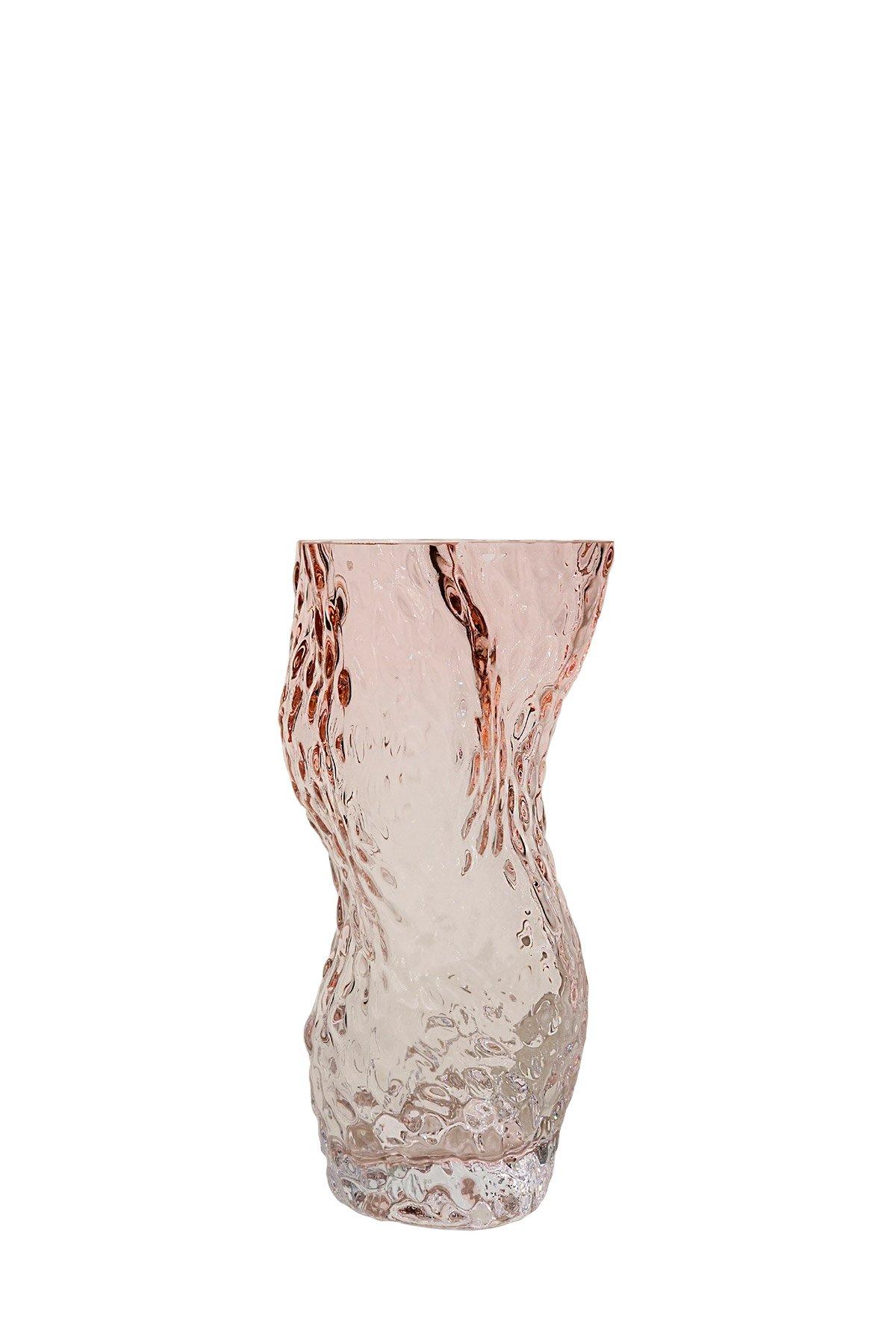 Formfull vase i ombré-effekt