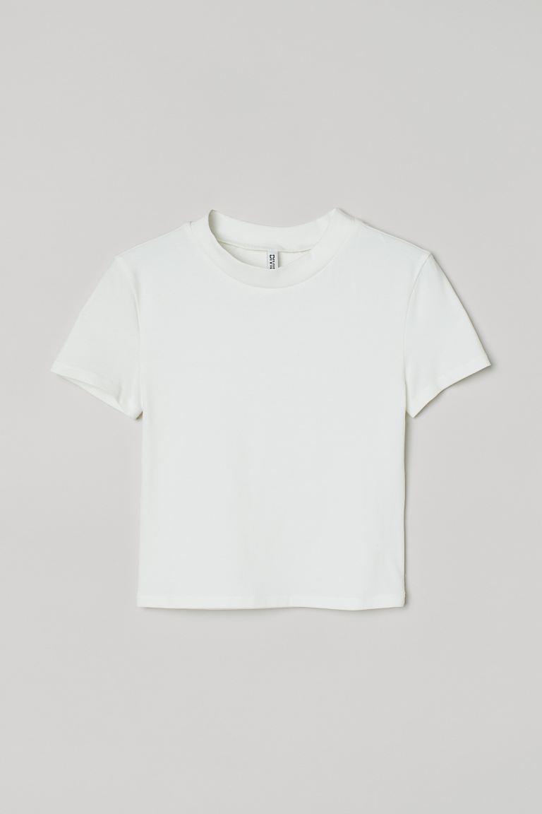 Kort T-skjorte