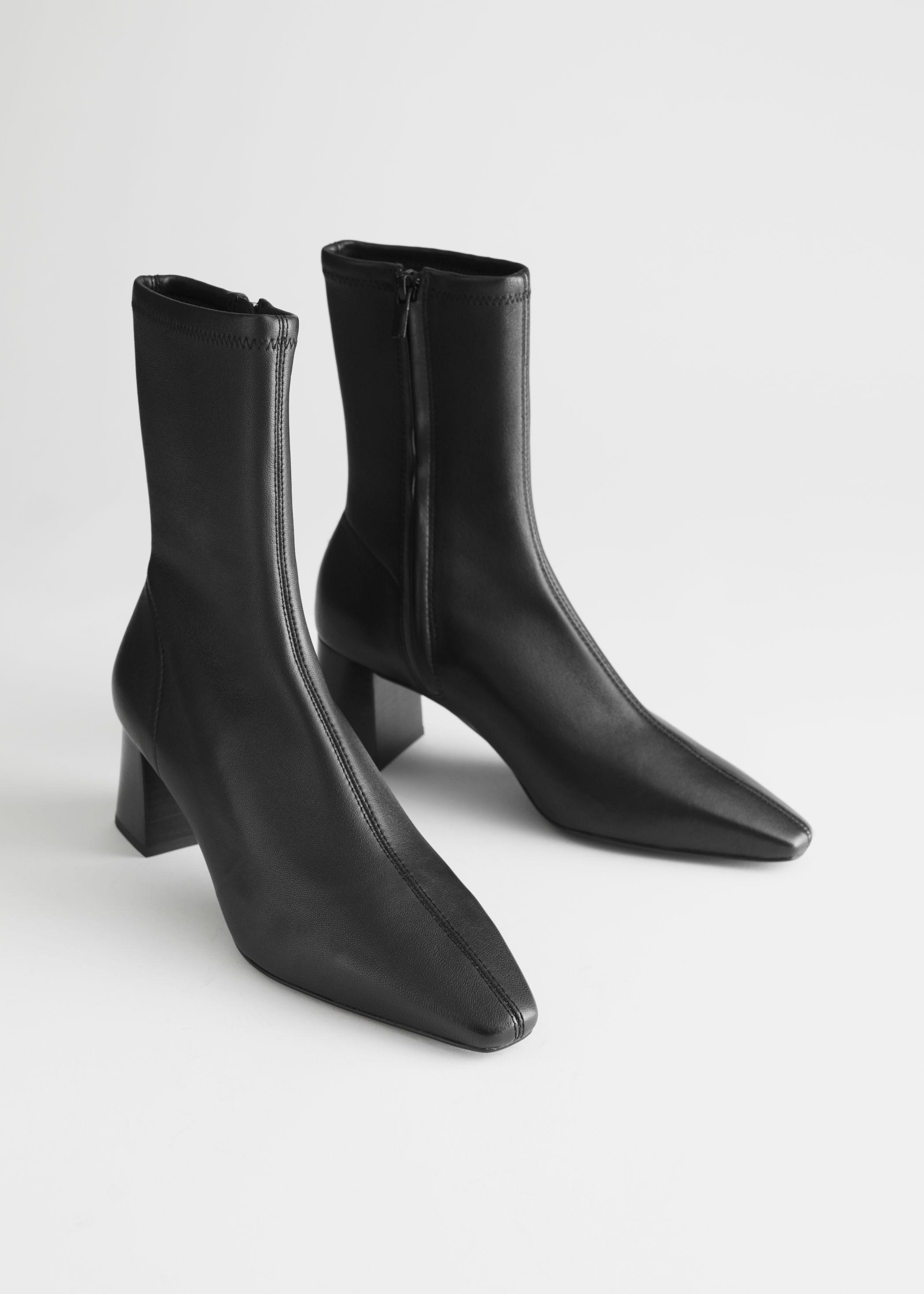 Svarte boots