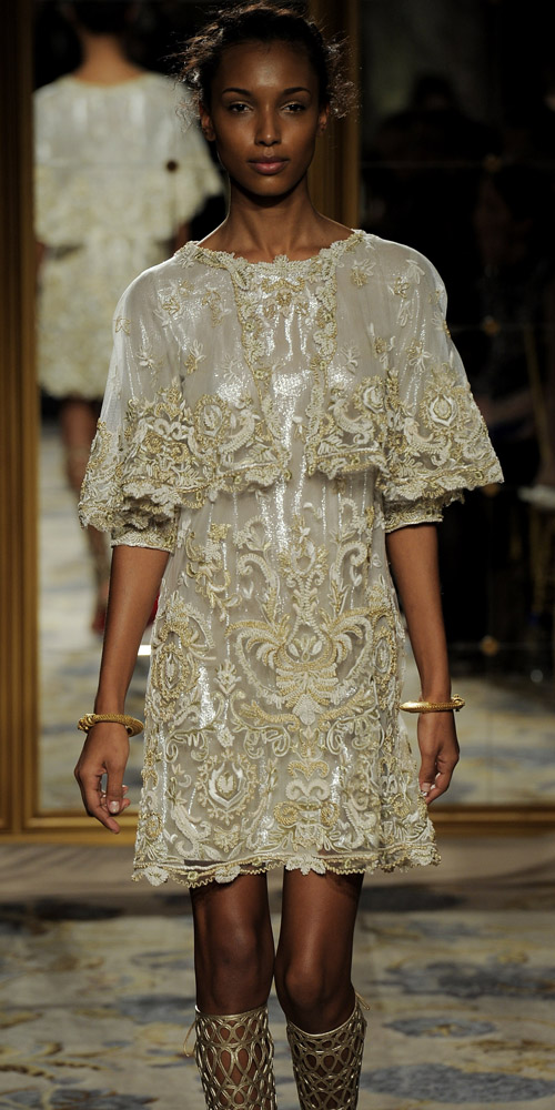 Marchesa fall/winter 2012. Foto: Getty Images